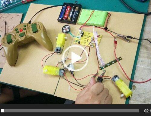 SNRM49 50 2.4G remote control test