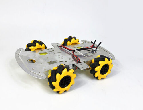 SNC380 robot car chassis install guide