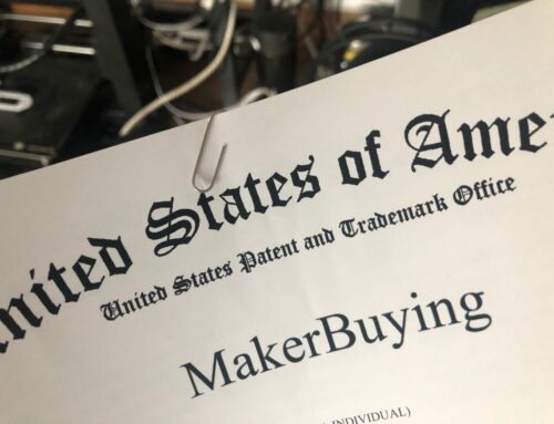 The makerbuying trademark has been successfully registered in the United States