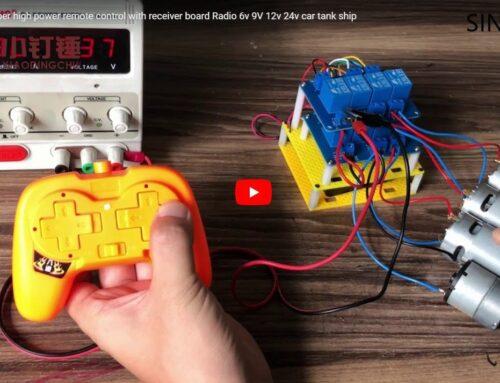 SNRM61 8ch high power remote control