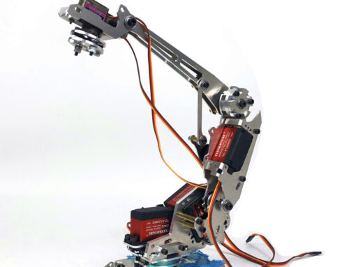 SNAM7300 Metal mechanical arm Multi-degree of freedom manipulator Industrial robot model Six-axis robot install guide