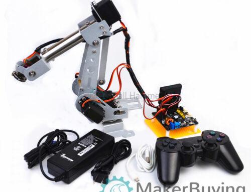SNAM4900 arduino robot arm 6 dof kit install guide