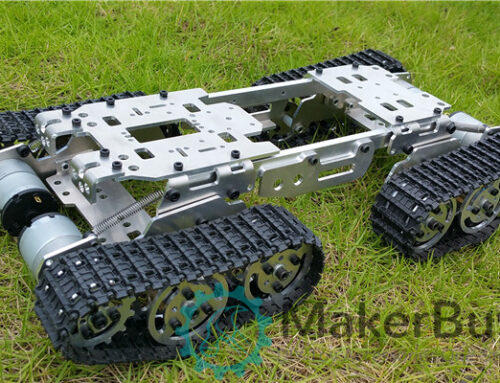 SN1300 4WD robot tank chassis install guide
