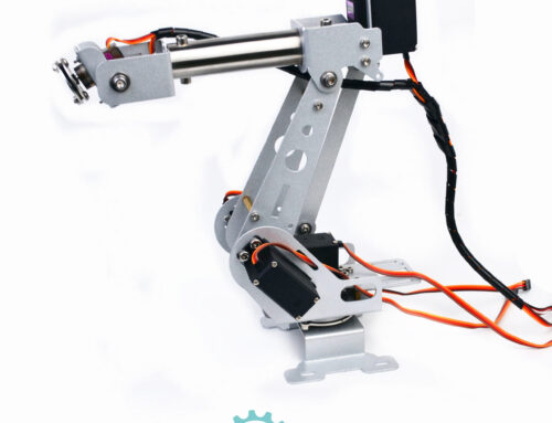 SNAM4800 6DOF robot arm install guide