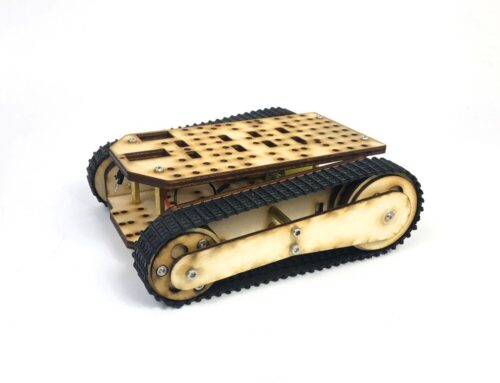 SN8600 R4 wood robot tank chassis guide