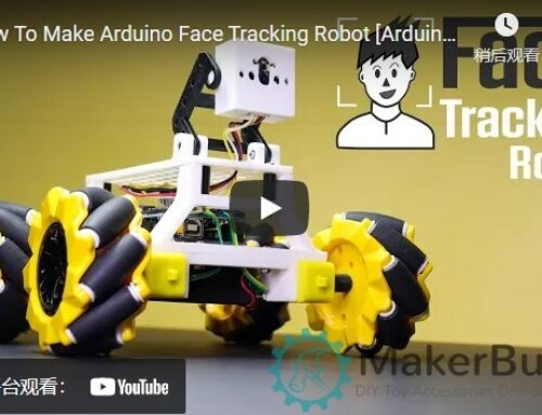 How To Make Arduino Face Tracking Robot [Arduino Project]