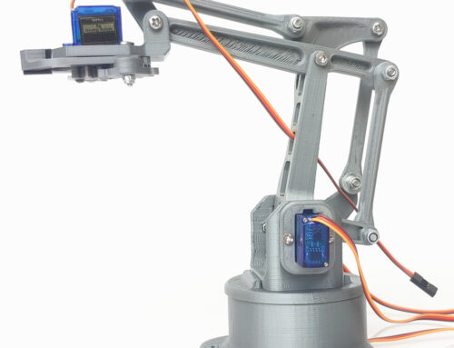 SNAM7400 3D printing EZ silver robotic arm installation tutorial